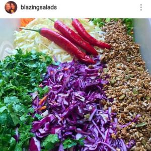 Blazing Salades